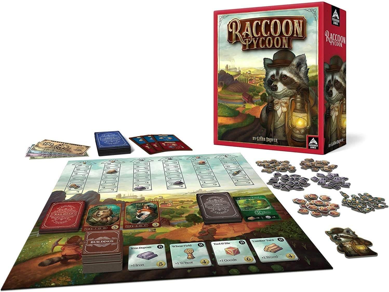 Racoon-Tycoon-Spel