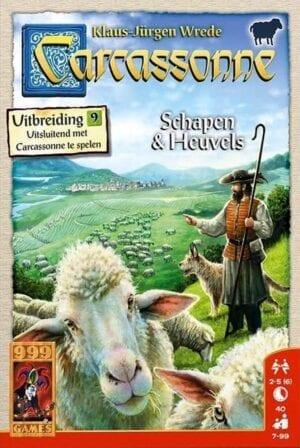 999 games carcassonne uitbreiding 9 schapen heuvel