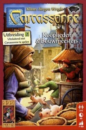 Carcassonne Uitbreiding 2 Kooplieden Bouwmeesters