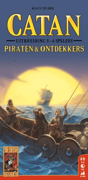 Catan Piraten Ontdekkers 56 spelers