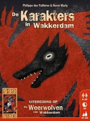 De Weerwolven van Wakkerdam Karakters