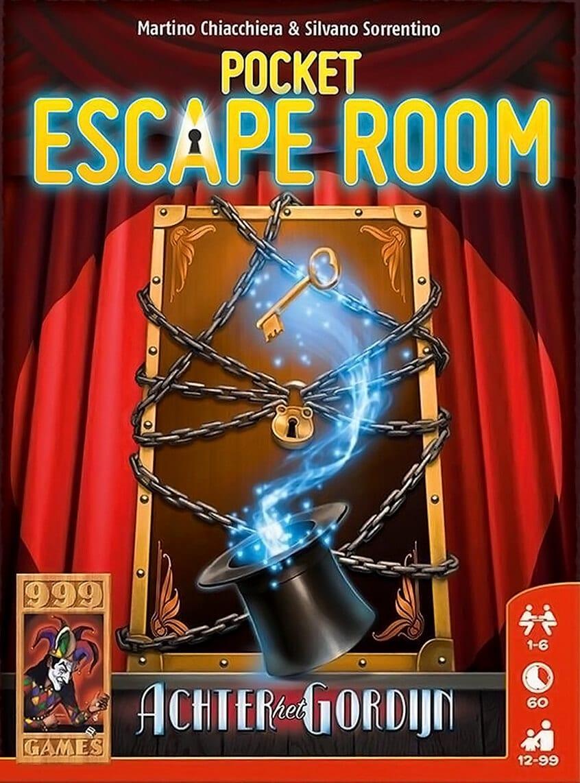 Pocket Escape Room Achter het Gordijn
