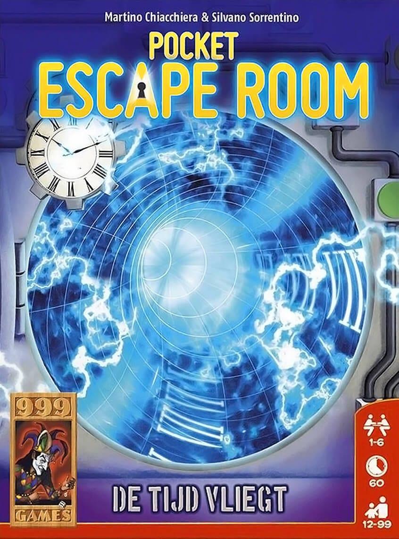 Pocket Escape Room De Tijd Vliegt