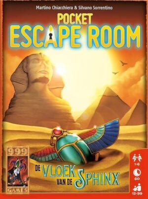 Pocket Escape Room De Vloek van de Sphinx